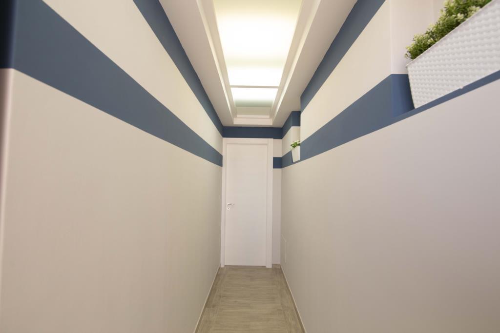 Corridoio comune per accesso in camera