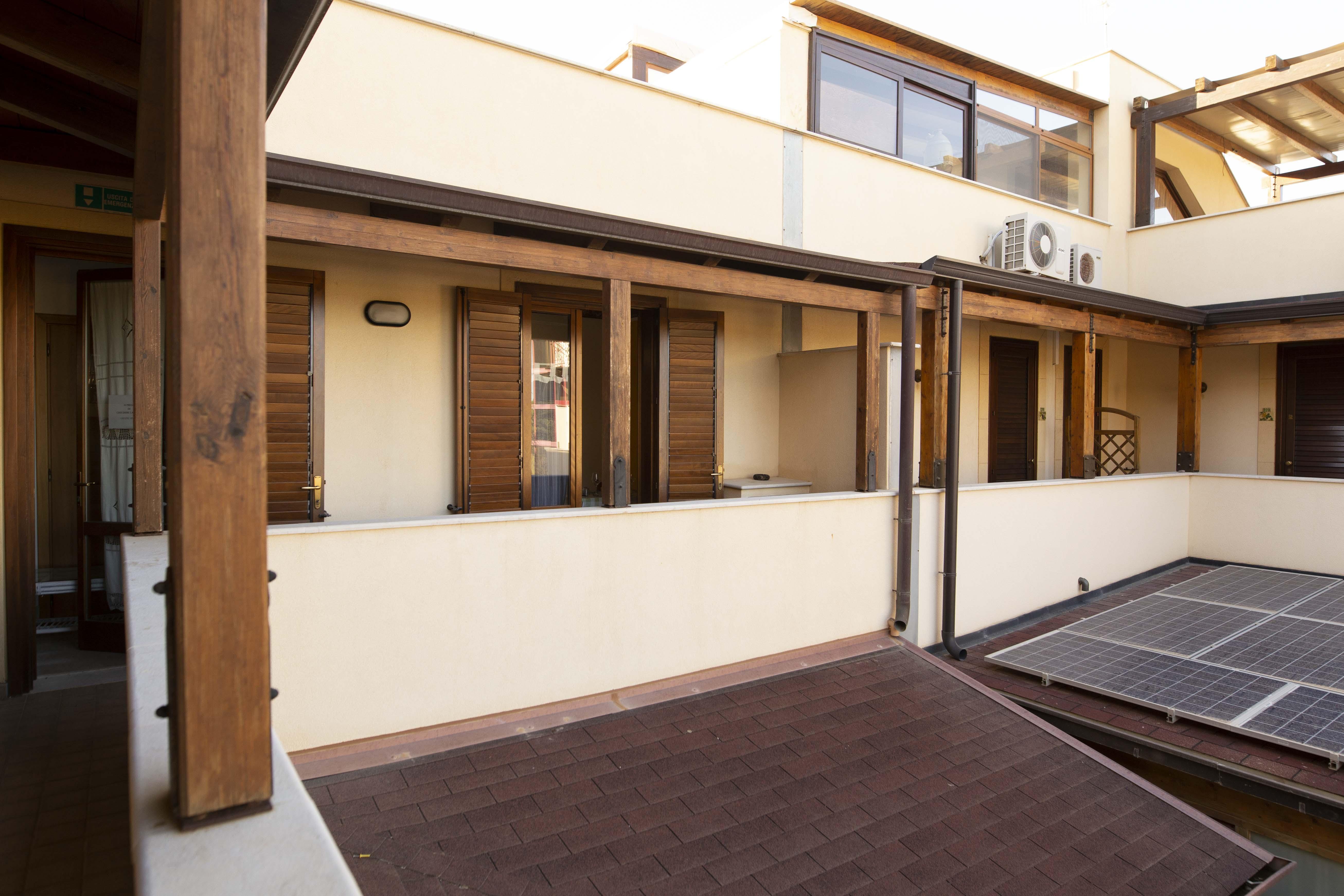 Balconi accesso alle camere