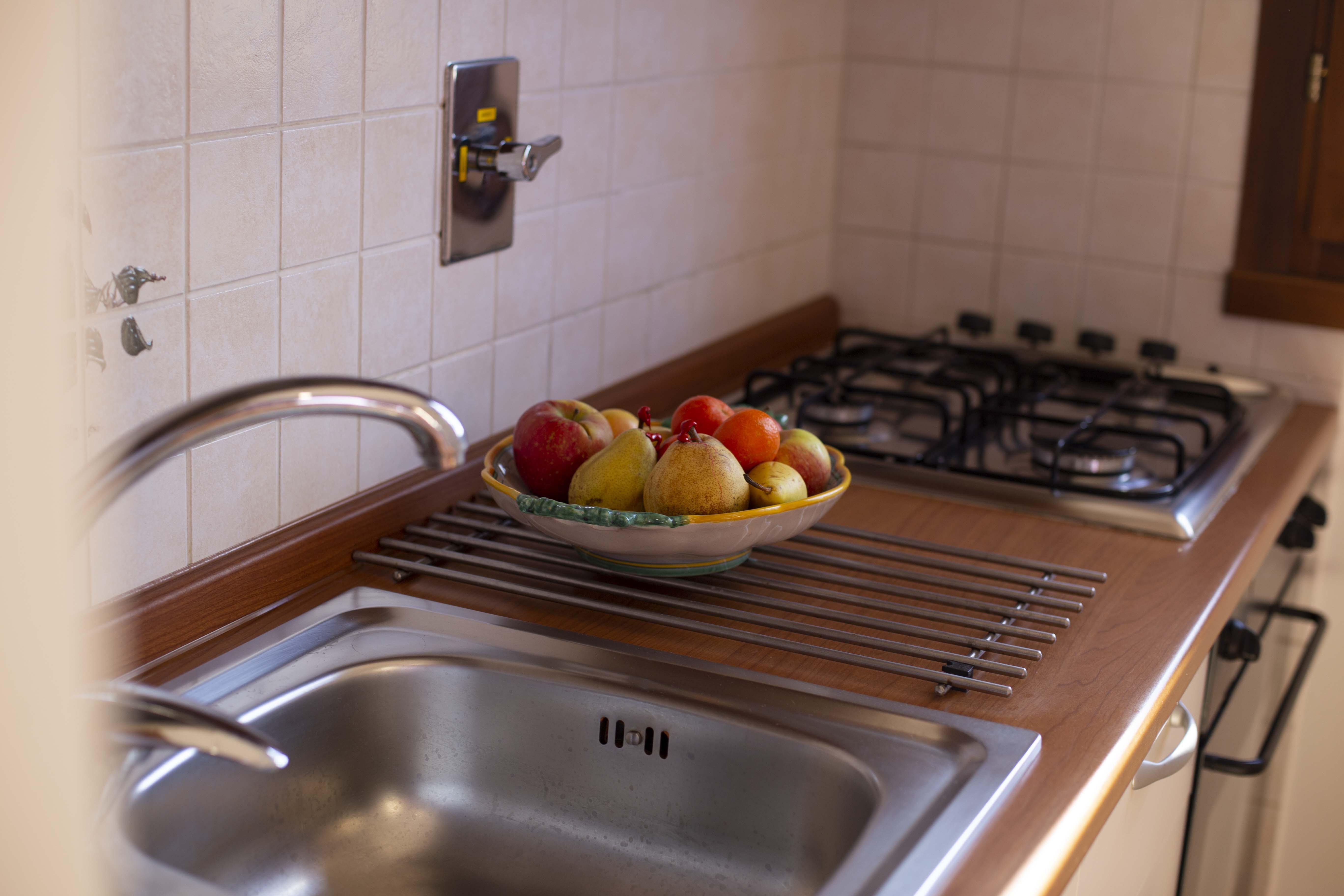 Particolare angolo cucina